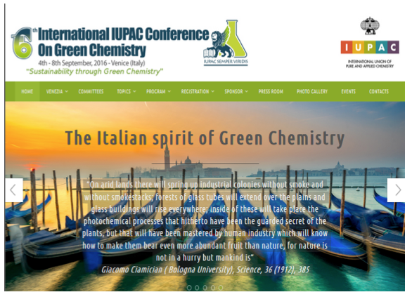 international iupac conference on green chemistry